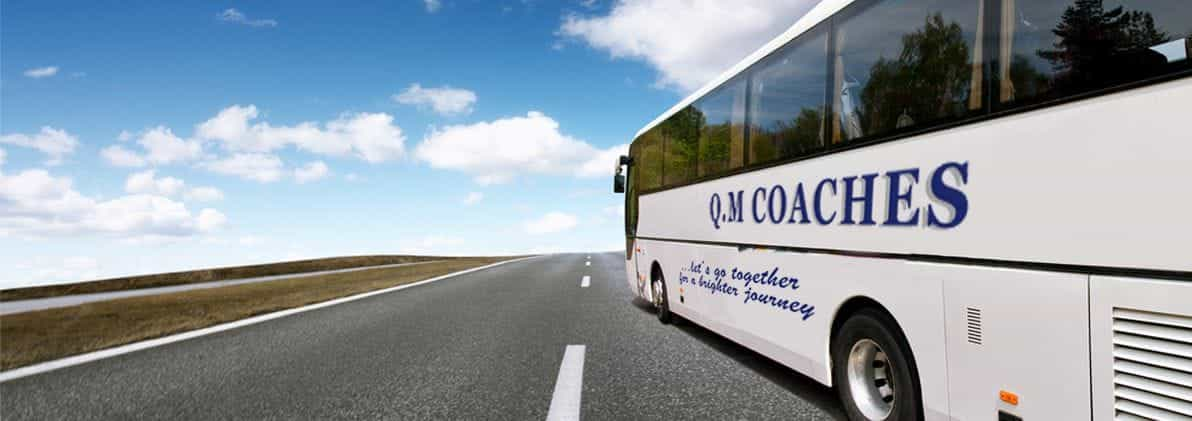 Coach on the road
