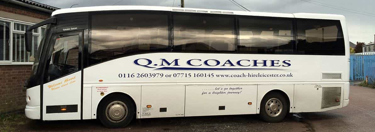 Side of our coach