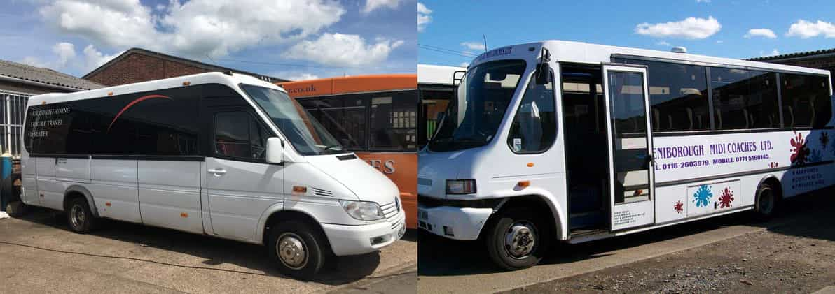 Selection of minibuses