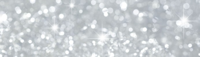 Christmas background in silver